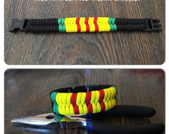 Vietnam service Paracord bracelet