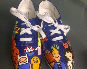 Custom Adventure Time/ Bravest Warriors Shoes