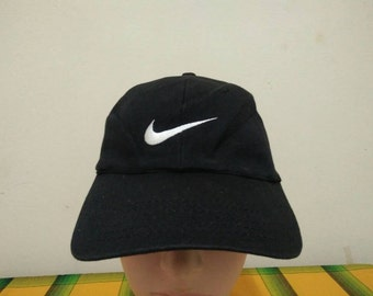 Rare Vintage NIKE Sport| Nike Running| Nike Tennis Challenge Court| Nike Big Logo cap hat one size fit all