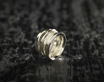 925 Silver ring, ring / unique designer jewelry