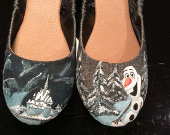 Disney Inspired Olaf Shoes