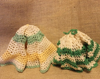 Vintage dish scrubbers