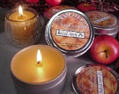 6 oz Travel Tin Candles-Baked Apple Pie 6 Pack