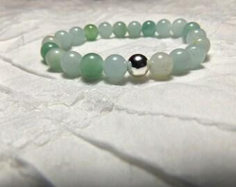 Light Green Bead Bracelet