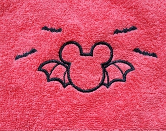 not so scary mickey mouse halloween hand towel mickey halloween kitchen decor mickey bath - Halloween Bath Towels