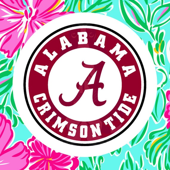 alabama circle cutting files in svg eps dxf png jpeg and