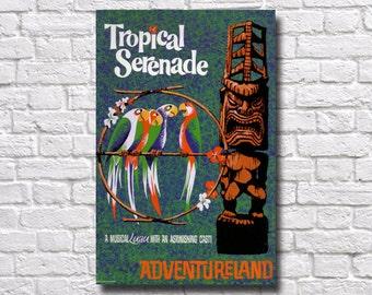 Disneyland Adventureland Poster - #0472