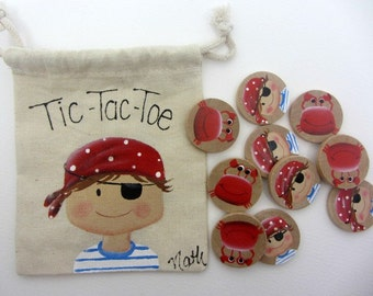 Game of Tic-Tac-Toe Pirate