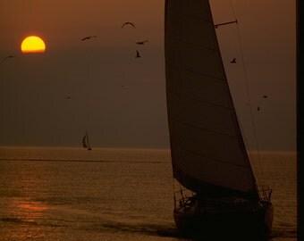 Sailboating in Michigan
