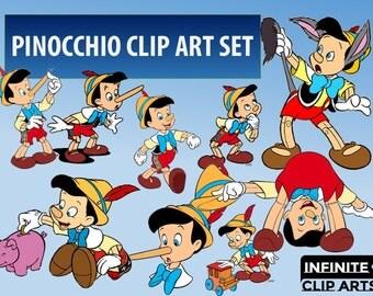Pinocchio clipart   Etsy