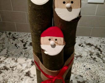 Country Christmas - Santa Decor