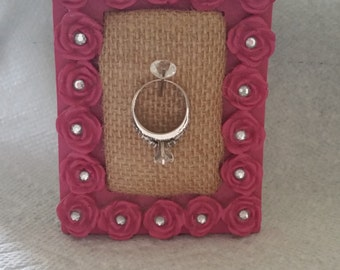 Wedding ring holder