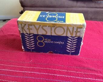 Keystone K-8 Movie Camera
