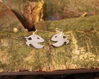 Happy Fish Earrings - Original