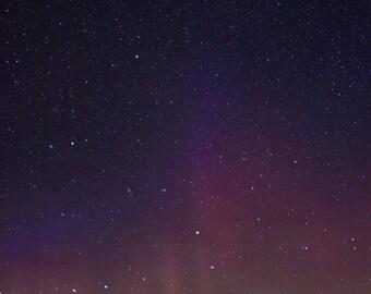 Northern Lights over the Sleeping Giant 16x10