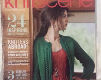 Knitscene magazine