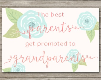 Pregnancy Announcement for Family - INSTANT DOWNLOAD