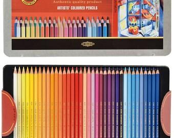 KOH-I-NOOR Polycolor Artist's Coloured Pencils (Set of 72)