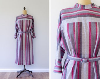 Vintage 1980s D'Allaird's Straight Dress // Made in Canada - Size M/L