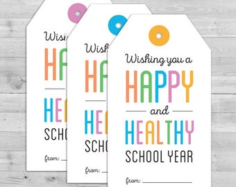 Back to School Favors, Back to School Tags, Back to School Favors, First Day of School Tag, Back to School Favor Tags, Back to School Favors