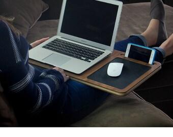 Walnut Laptop Desk