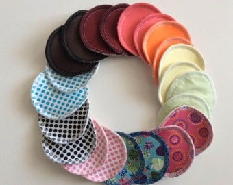 Together reusable nursing pads - customize your pad to breastfeeding Starter Kit! -Zero waste, zero waste