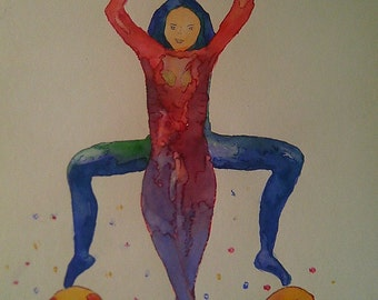 Watercolour body agreement number 13