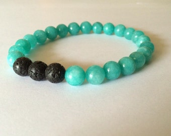 Essential Oil Aromatherapy Bracelet - Turquoise