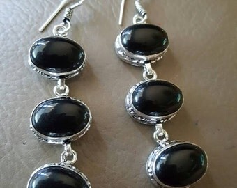 Black Onyx Earrings!