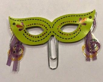 Mardi Gras masks paperclip