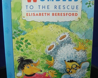 Wombles to the Rescue Childrens Vintage Book Elisabeth Beresford