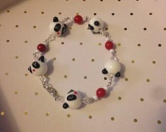 Cute Panda Bracelet
