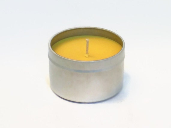 Juicy Pineapple Scented Candle in  Travel Tin