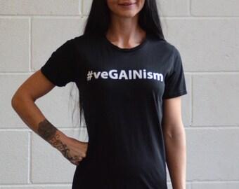 Womens Organic veGAINism T-shirt