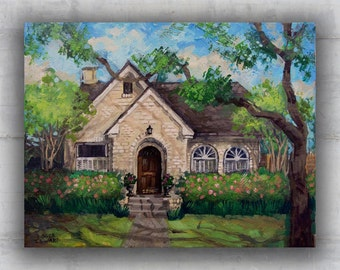 Personalized Home Portrait Painting
