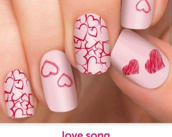 Love Song Incoco Nail Wraps