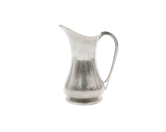 Antique Abercrombie and Fitch English Pewter Pitcher