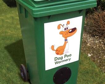 Dog Poo, Poop, Pooh Wormery Bin 240L - Environmentally Friendly end to dog Poo!