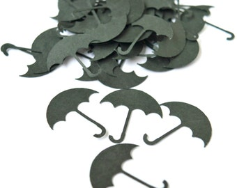 Umbrella Die Cuts Umbrella Confetti Table Decor Party Decor Scrapbooking Embellishments Set of 100 pcs