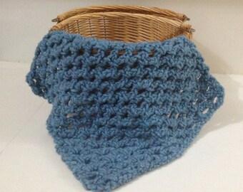 Crochet handmade mini baby blanket/ Newborn mini blanket, photo props/Blue baby  mini  blanket/Blue baby blanket/Layering mini blanket