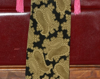 Fendi chic - vintage paisley print pure silk tie