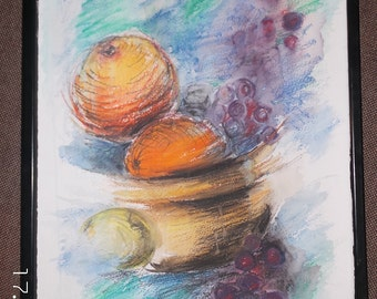 Wall decor for kitchen.original Painting. Drawing.