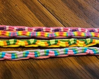 Hand made Reversible Wave bracelet