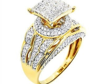1.5 carat diamond engagement ring