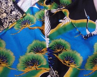 Vintage hawaiian shirt real vintage hawaiian sears hawaiian shirts XL adult vintage shirts multi colored very nice!!!