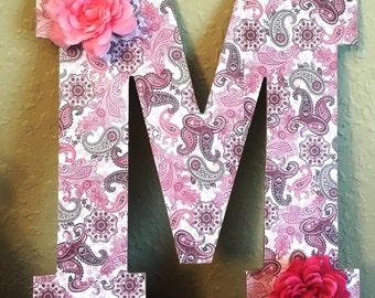 Personalized Wall Letters