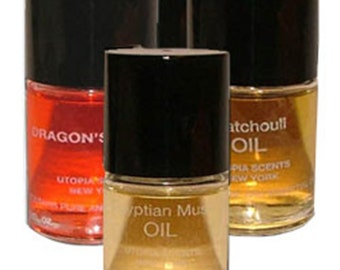 Egyptian Musk Oil by Utopia Scents, 4 Pack #Utopia Scents