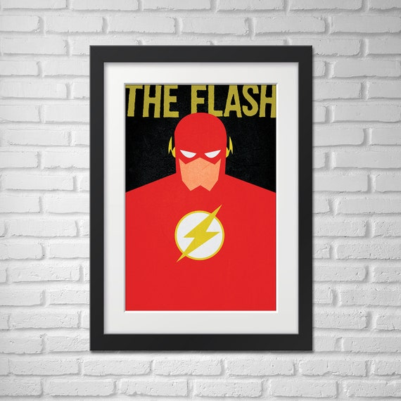 The Flash Poster - Illustration / The Flash Poster / The Flash