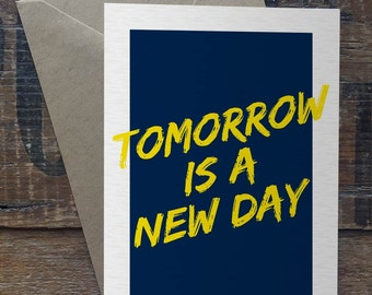 Tomorrow is a new day - Uncommon Card
