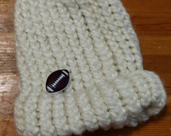 Knitted Infant Beanie.